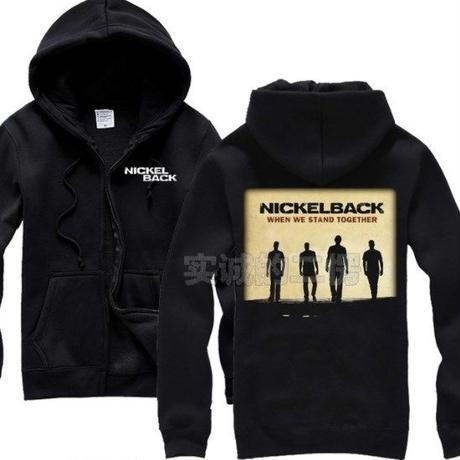 高品質   NICKELBACK ニッケルバック  ジップアップ パーカー 仮装 衣装 コスチューム 小道具 海外限定 3
