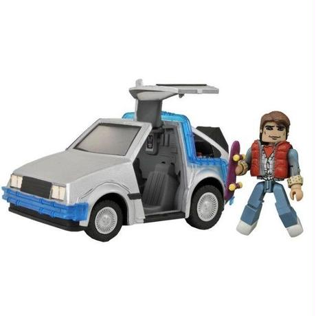 バック トゥ ザ フューチャー ダイアモンド セレクト DIAMOND SELECT TOYS Back To The Future Minimates Vehicle Time Machine #1