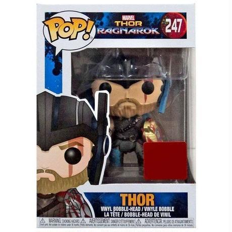 マイティ ソー Thor ファンコ Funko フィギュア おもちゃ Ragnarok POP! Marvel Exclusive Vinyl Bobble Head #247