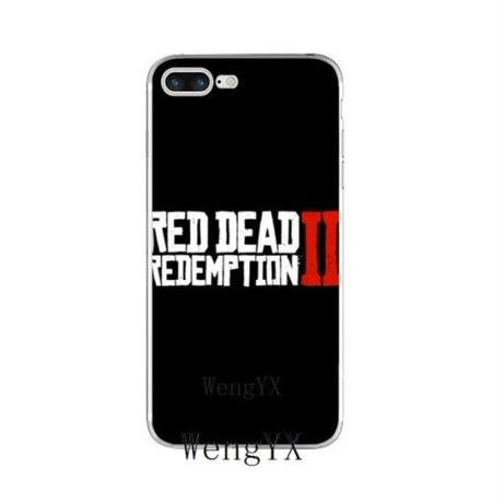 レッド・デッド・リデンプション2  シリコン Iphone ケース アイフォンケース  Red Dead Redemption 2   RDR2