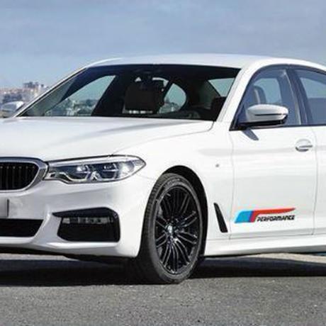 BMW ステッカー デカール Mパフォーマンス  ドア サイド e46 e90 e39 f30 f10 e70 e60 e36 x5 e53 e34 e30 h00089