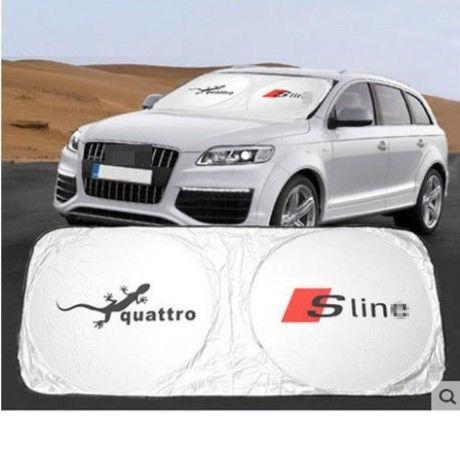 アウディ サンシェード Audi A6 A5 A7 A3 A4 Q3 Q5 S3 S5 S7 A4L A6L TT Sline 内装 h00316