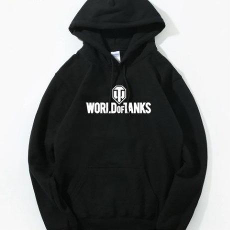 World of Tanks ワールドオブタンクス WoT ロゴパーカー  ゲームグッズ  WoTグッズ