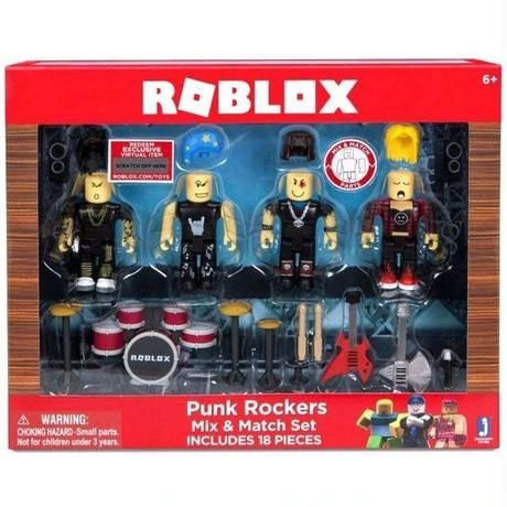 ロブロックス Roblox ジャズウェアーズ Jazwares おもちゃ Punk Rockers Mix & Match Set