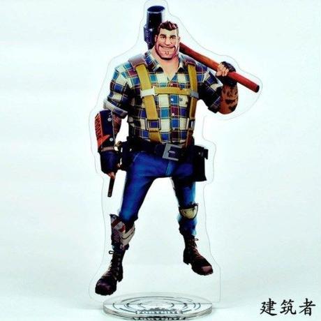フォートナイト アクリル ディスプレイボード アクションフィギュアコレクション 装飾 ギフト Fortnigt バトル · ロワイヤル  6