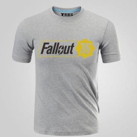 Fallout 76 フォールアウト  ゲーム ロゴ Tシャツ  FO 76 グッズ 3