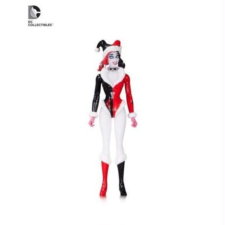 "ディーシー ディーシー DC COLLECTIBLES Harley Quinn 6"" Figure - Holiday"