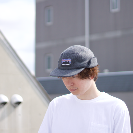 NEW ENGLAND CAP × YEN WORK®|DOG EAR FLEECE CAP