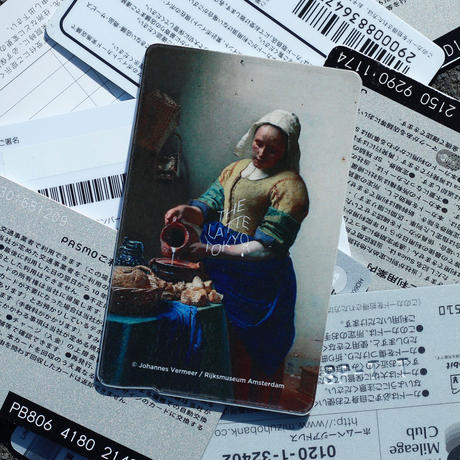 THE LATTE TOKYO|THE MILKMAID IC CARD STICKER