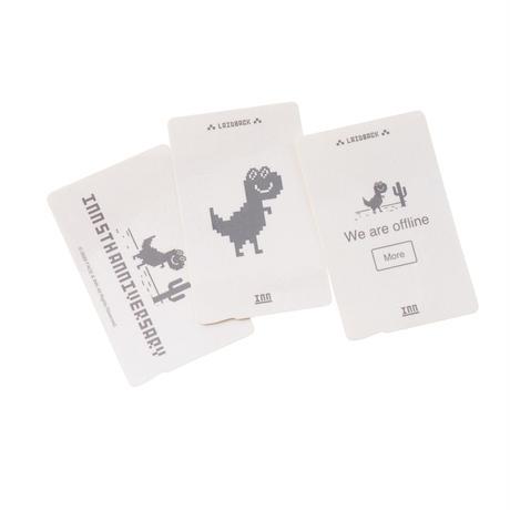 face × INN|OFFLINE DINOSAUR IC CARD STICKER