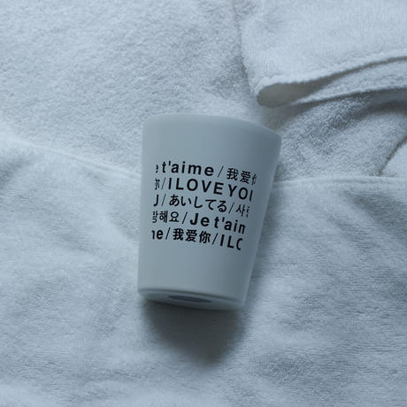 THE LATTE TOKYO LOVE THERMO TUMBLER