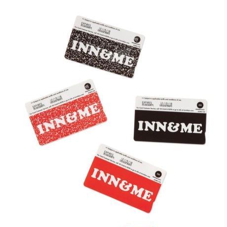 I&ME × INN|IC CARD STICKER