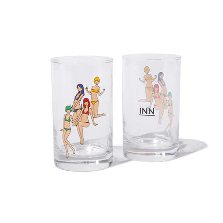 白根ゆたんぽ × INN|DRAW FOUR TUMBLER
