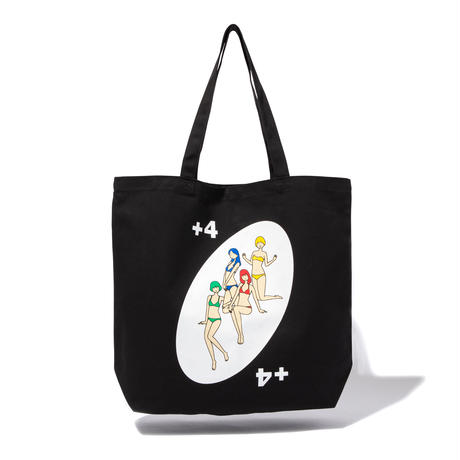 白根ゆたんぽ × INN|DRAW FOUR LARGE TOTE BAG