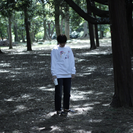 岡田喜之 × INN|CREW NECK SWEATSHIRTS