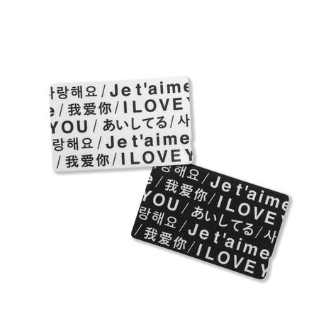 THE LATTE TOKYO × INN|LOVE IC CARD STICKER