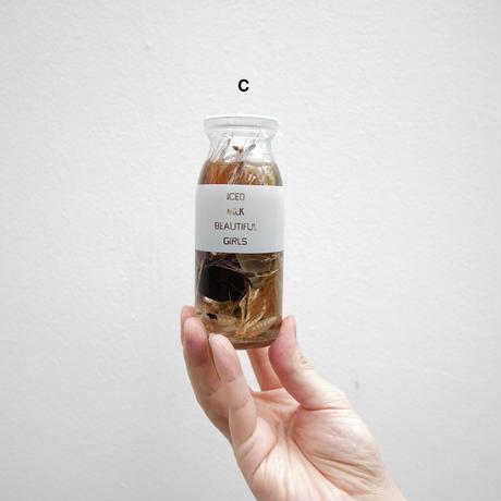 OBJECT OF FLOWER STAND × 東京牛乳 × THE LATTE TOKYO|TOKYO MILK BOTTLE PLANTS