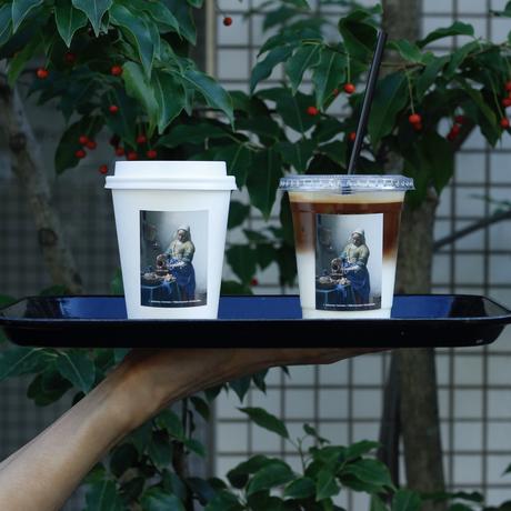 THE LATTE TOKYO|THE MILKMAID KEY CHAIN & LABEL STICKER SET