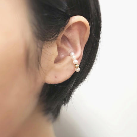 MINIMUMNUTS | dot ear cuff G