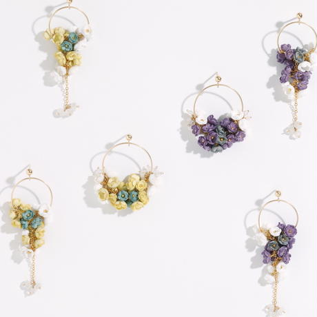 Selieu | Mimosa Earrings Large