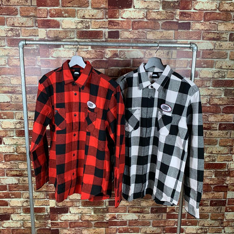 【LOBBY】Logo Check Shirt