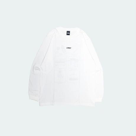 【LOBBY】Long T-shirt [Hotel Icon]