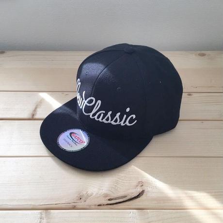 Snapback Cap [Cursive Logo]