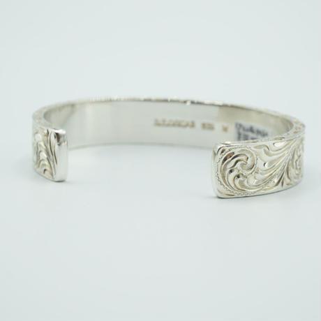 "FUNNY D.E.OSCAR Hand Engraved Bracelet""M"""