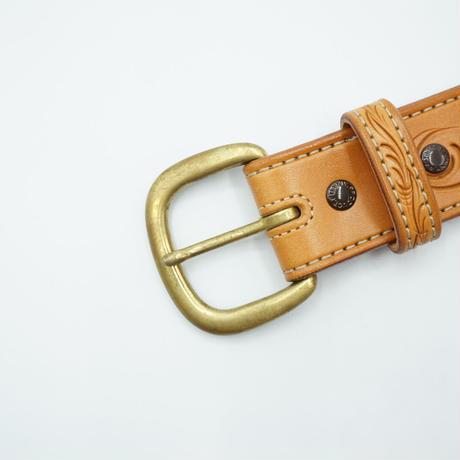 FUNNY Western Feather cut Belt