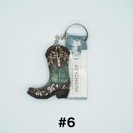 Western  boots key chains