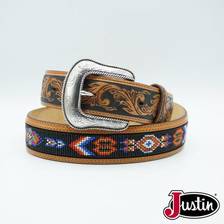 Justin Western Belt size 36インチ