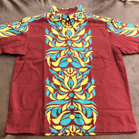 Cushman S/S Pull-over Hawaiian Shirt(レッド)