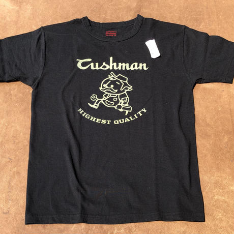 "Cushman ""Original Character"" S/S TEE(ブラック) size S"