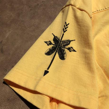 GUNZ Western polo shirt(イエロー)
