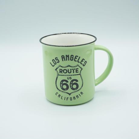 RT.66 マグカップ LA RETRO グリーン 66-KI-MG-5652PK