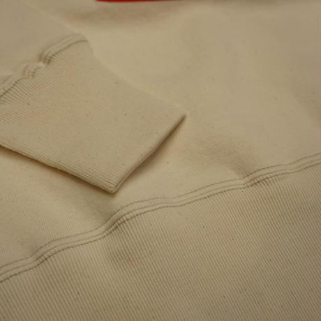 "Cushman Print sweat ""Bell""(クリーム)"