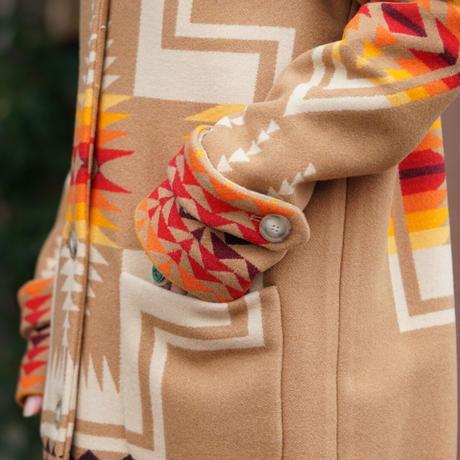 PENDLETON Harding archive blanket coat
