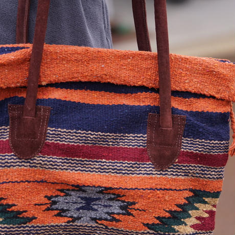 El Paso Saddleblanket Handwoven Wool Malibu Purse