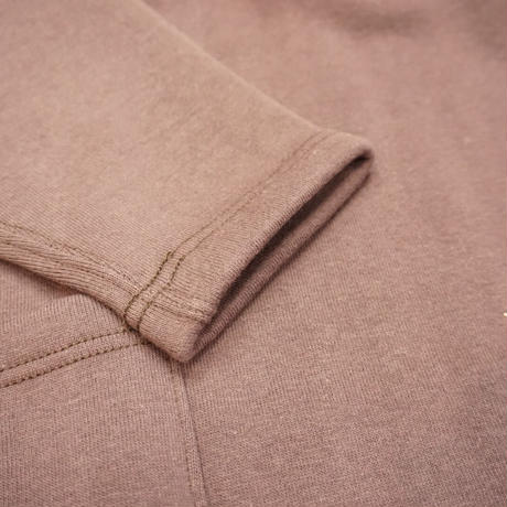 Cushman Side pocket  sweat (ブラウン)