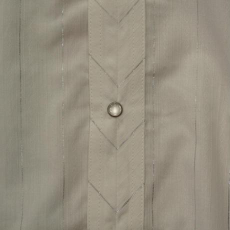 Wrangler western L/S shirt size M(ホワイト)