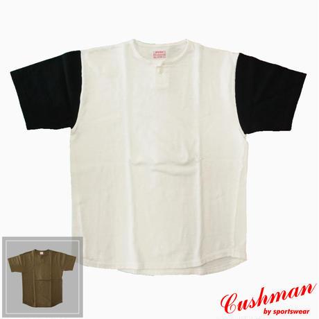 Cushman one button henley neck tee 26619