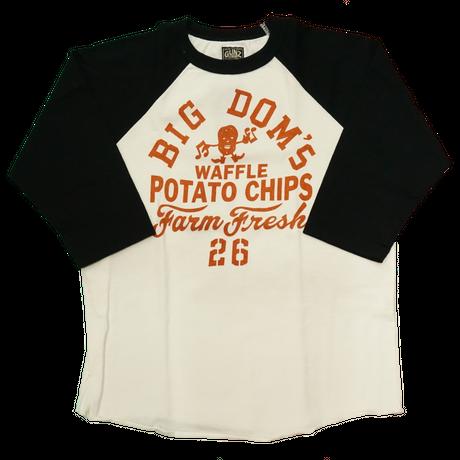 GUNZ BIG' DOM'S Tシャツ(ブラック)