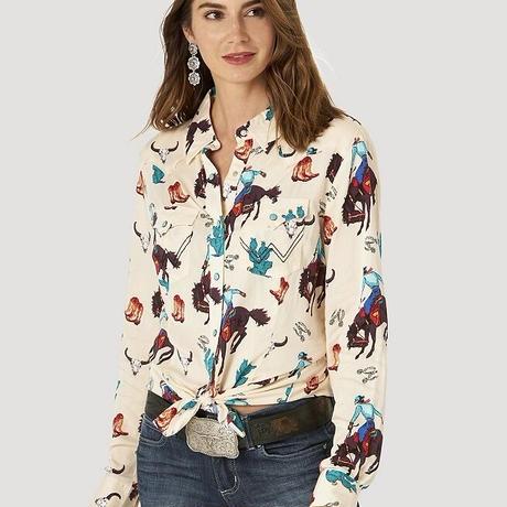 Wrangler Women's L/S shirts