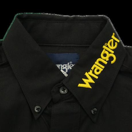 Wrangler western L/S shirt(ブラック)