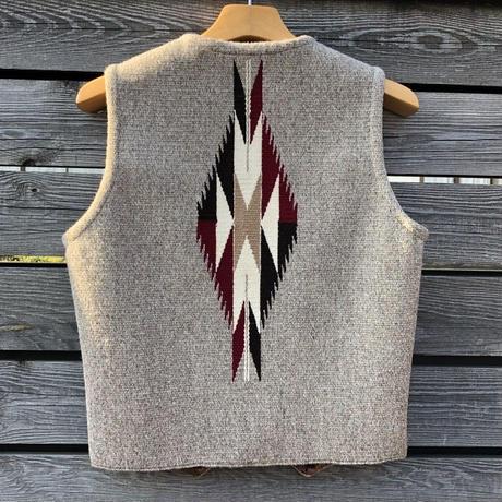 ORTEGA'S CHIMAYO vest (36.オートミール)