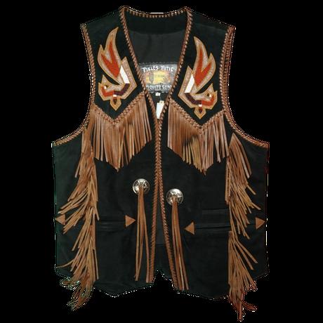 ARTURO Western leather vest