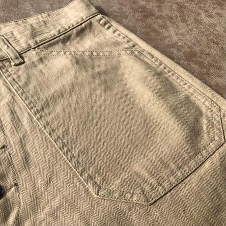 Cushman HERRINGBONE SHORT PANTS(ベージュ)