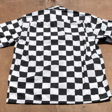 Cushman S/S  Checkered flag shirts