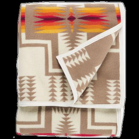 PENDLETON Harding jacquard blanket(ホワイト)