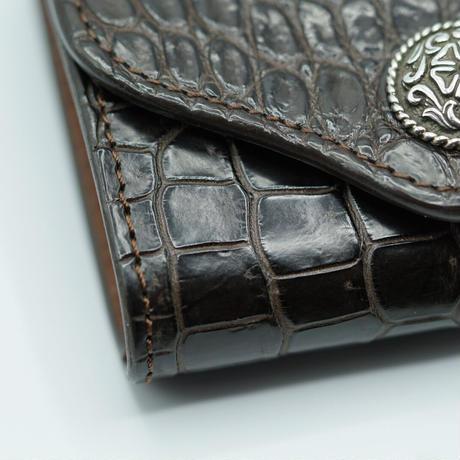 FUNNY Coincase Bellows POROSAS CROCODILE